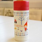 Shinzi Katoh Stainless Steel Mug Bottle: Red Riding Hood Design