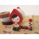 Decole Otogicco Design: Red Riding Hood Tape Dispenser