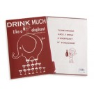 Shinzi Katoh Clear File Folder: Drink Much Design