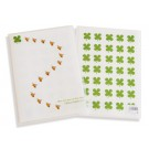 Shinzi Katoh Clear File Folder: On This Line Design