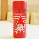 Shinzi Katoh Stainless Steel Mug Bottle: Red Riding Hood 2 Design